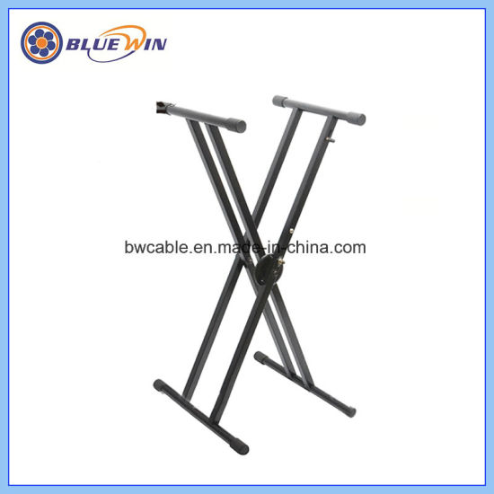 Musical Instrument Music Tilted Double Frame Keyboard Stand China ...