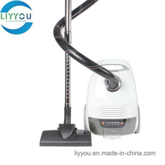 Big Bagged Canister Vacuum Cleaner Ly8009 with Super Silent Design