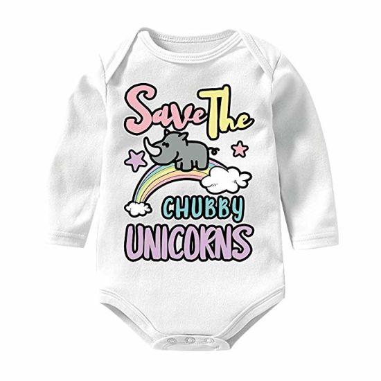 Unisex Baby Girls Boys Bodysuits Long Sleeve Romper Outfits Claim Garment