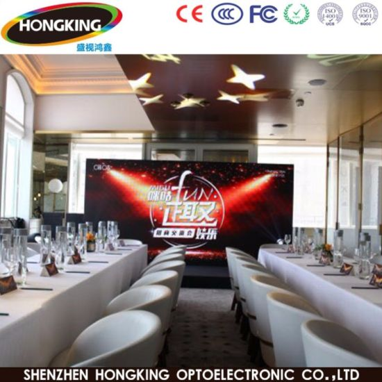 Indoor SMD P2.5 P3 P4 P5 P6 LED Display Panel for Stage/Event/Performance