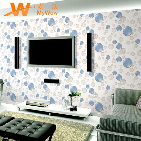 High Quality Home Decor Pvc Waterproof 3d Wallpaper China 3d Wallpaper Wallpaper Made In China Com