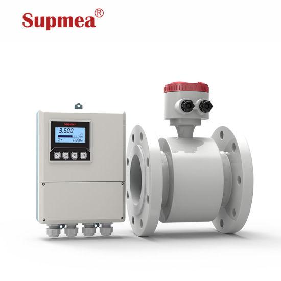 Remote Type Mag Pulse Flowmeter Magnetic Price Water Sewage Electromagnetic Water Flowmeter Manufacturer