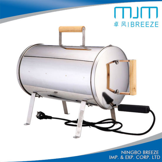 Hot Sale! 201stainless Steel Electric BBQ Grill Smoker with Ce/RoHS pictures & photos