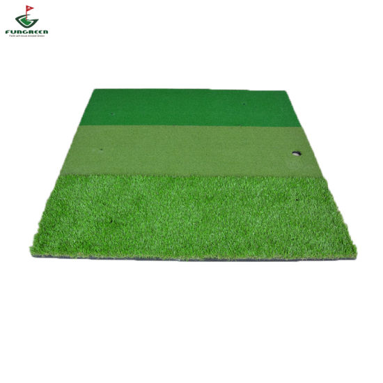 Driving Range Practice Artificial Golf Hitting Mat Mini Green pictures & photos