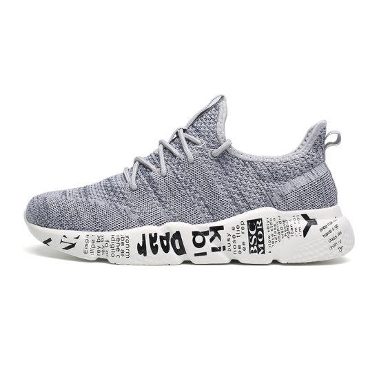 2019 New Design Light Sneakers Mesh Latest Men Sport Shoes