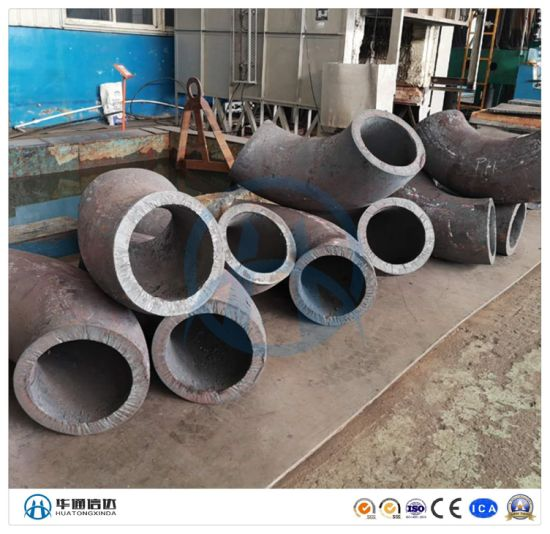 180 Degree Long Radius Sch40 Seamless Carbon Steel Pipe Fitting Elbow