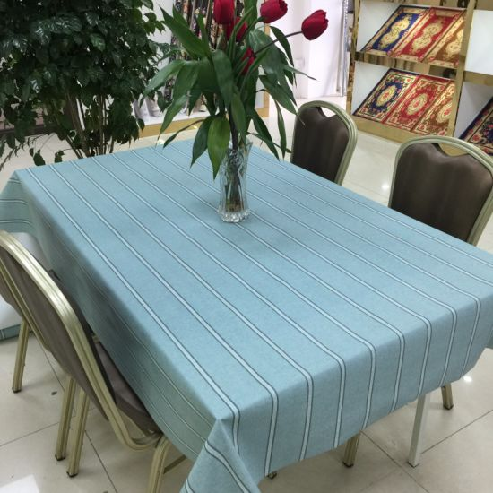 Factory Direct Wholesale Nonwoven Eco-Friendly Waterproof PVC Plastic Tablecloth
