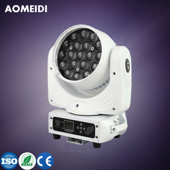 19X10W LED Beam Wash Focusing Moving Head Stage Lighting Equipment
