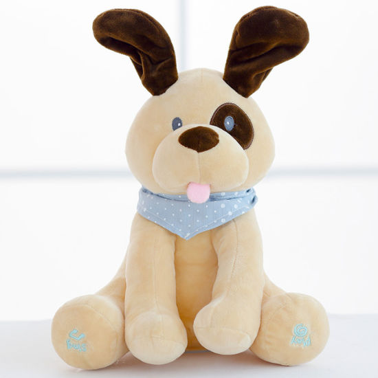 Funny Soft Dog with Big Ear Pet Plush Toy