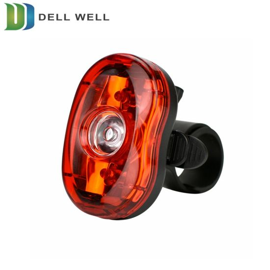 2x Headlight /& 2x TailLight Silicone Bicycle Bike Cycle Safety 2*LED Tail Light