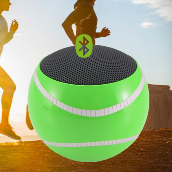 Supper Bass Loudspeaker TF Card MP3 Mini Tennis Ball Shape Bluetooth Speaker Can Customize Logo Company Name pictures & photos