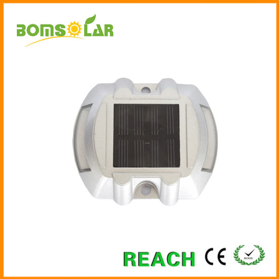 Strong Aluminium Solar Road Stud Light with 20 Tons Static Load