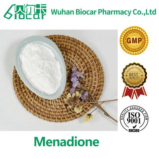 Standard Vitamins High Purity & Good Price Menadione (CAS: 58-27-5)