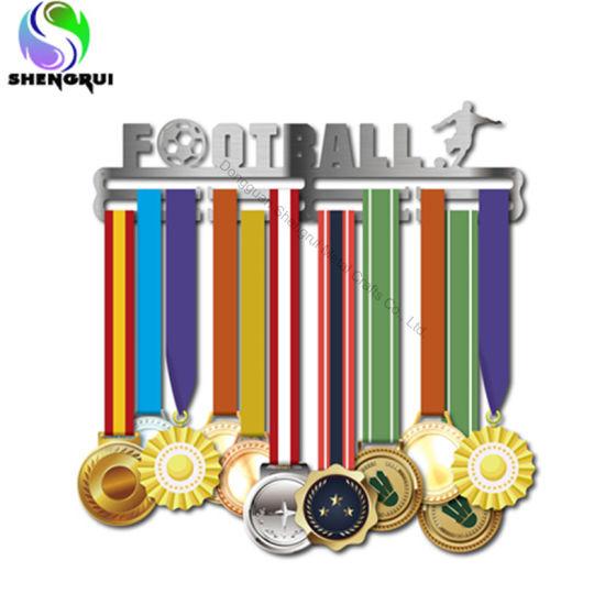 Medal Display Hanger Stainless Steel Medal Hanger for Football Basketball