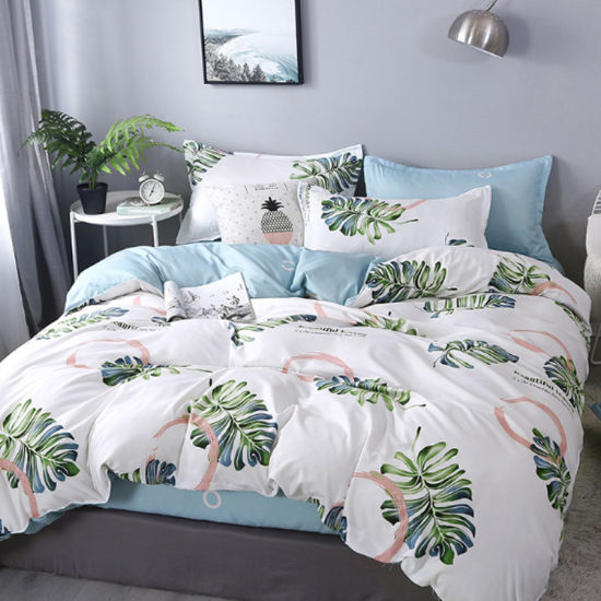 Factory Wholesale Comfortable High Quality Polycotton Printed Luxury Bedding Set 3-6PCS Single/Double/Twin/Queen/King
