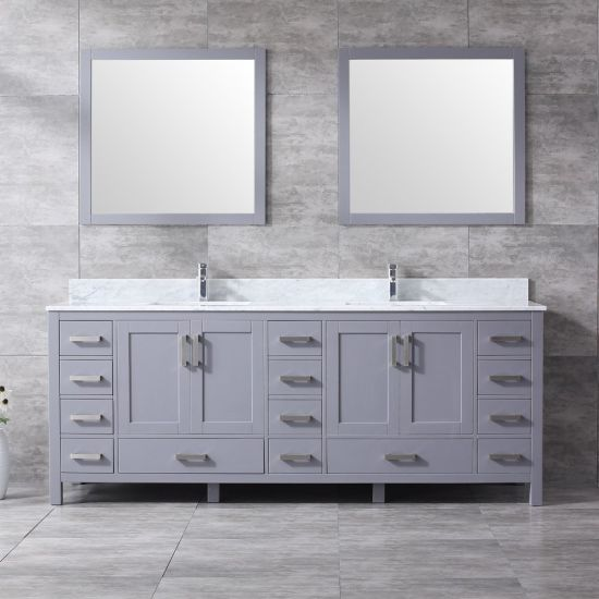 China 84 Solid Wood Supre Large Size, Large Bathroom Vanity Cabinets