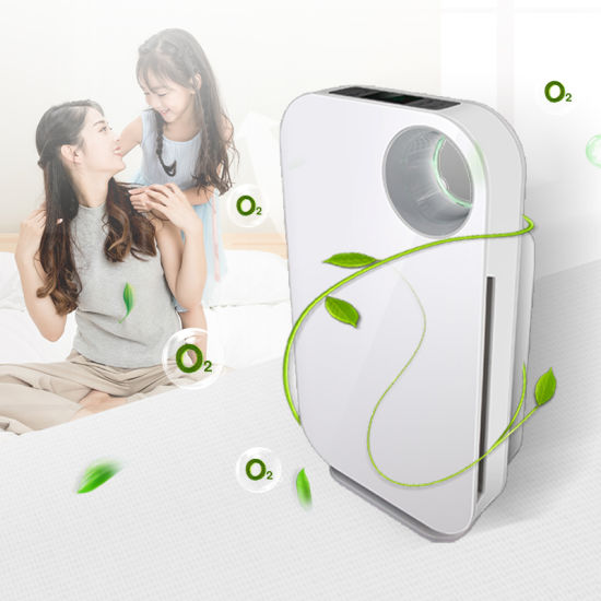 Humidifying LED Indicator Room UV LED Optional Air Purifier, Pm 2.5 Index Dust Sensor Air Purifiers for Home