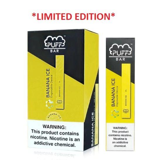 China Puff Bar Best Taste 400 Puffs Slim Disposable Vape With Mini Size China Vape Electronic Cigarette Saudi Arabia