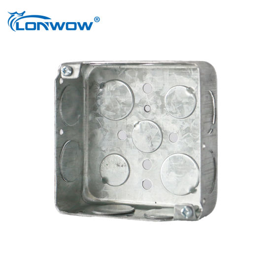 Galvanized Electrical Junction Box Price