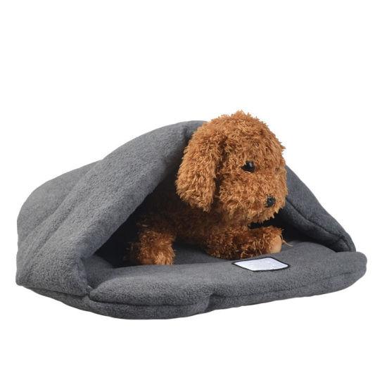 Warm Soft Fleece Pet Puppy Sleeping Bed Mattress Supplier