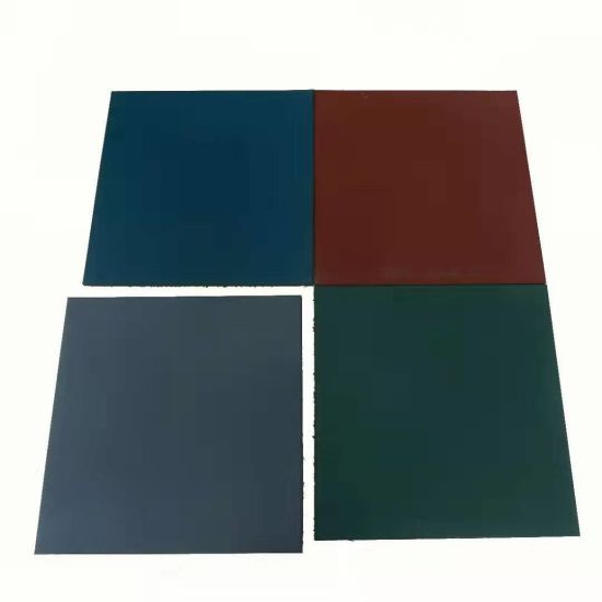 20mm 25mm Wholesale Children Outdoor Playground Rubber Flooring Tiles