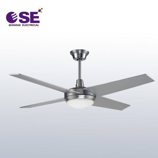 52 Inch Metal Cost Decorative Ceiling Fan with Light