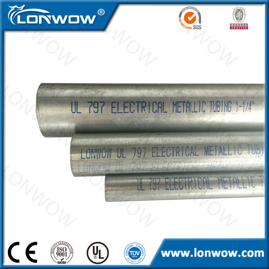 China Emt Wiring Pipe China Conduit Conduit Pipe