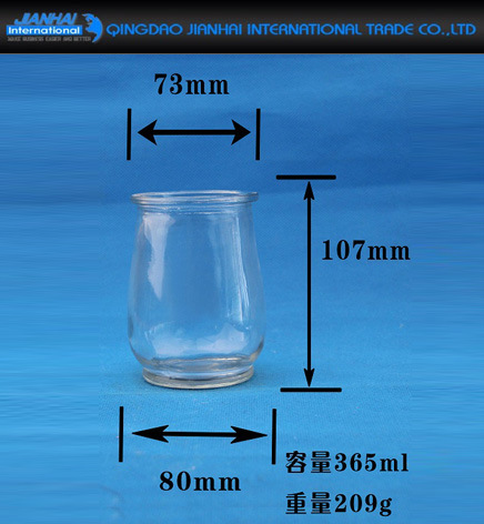 Round Transparent Glass Candle Holder for Gift, Decoration pictures & photos