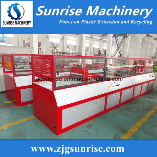 Plastic Machine PVC Profile Extrusion Line pictures & photos