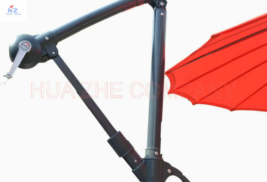 10FT Fiber Glass Parasol with Crank-Parasol Outdoor Garden Umbrella pictures & photos