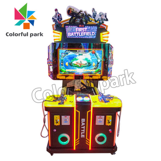 Colorful Park Coin Operated Games for Kids, Shooting Game Machine, Shooting Game