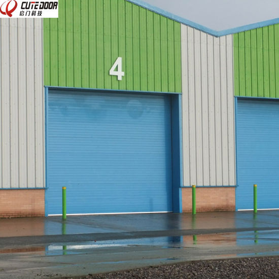Professional Customized Industrial Overhead Sectional Door with Good Motor pictures & photos