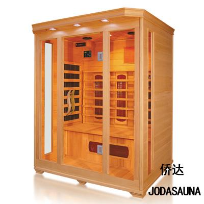 3 Poeple Infrared Sauna with Hemlock Material