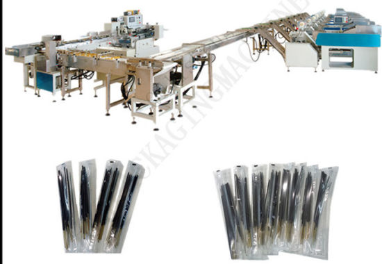 Full-Automatic Agarbatti Sticks Weighing Packaging Machine with 8 Lines pictures & photos