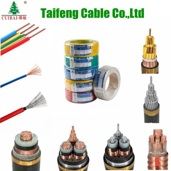 Fire Resistant DC/AC XLPE Insulated PVC Sheathed Steel Tape Armored Copper/Aluminum Conductor Flexible Control Building Electrical/Electric Power Cable Wire