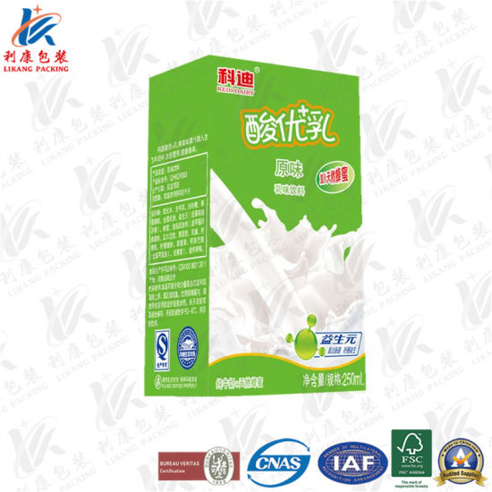 Laminated Paper for Fresh Juice and Dairy pictures & photos