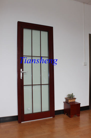 Customized High Quality Waterproof Double Glazed Aluminum French Doors with AS/NZS2208 pictures & photos