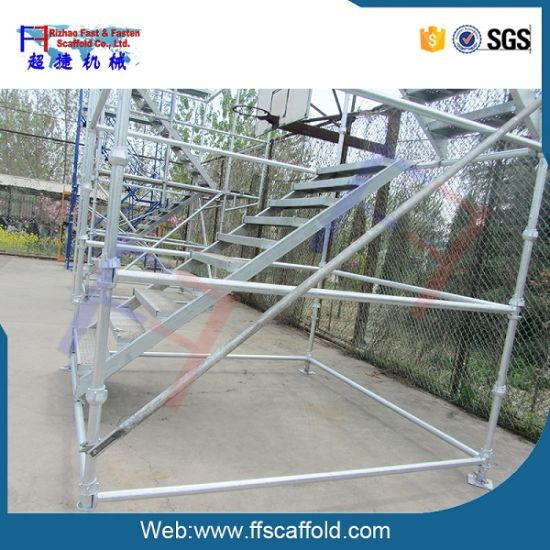 48.3*3.25mm Galvanized Steel Cuplock System Scaffolding pictures & photos