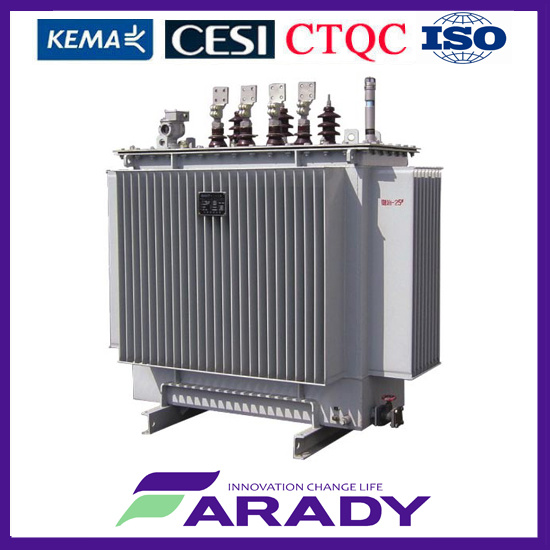 Power Distribution 33kv 11kv 500 kVA Electric Step Down Transformer pictures & photos