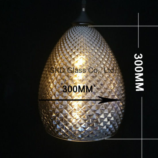 Smoky Cone Gl Lampshade For Pendants
