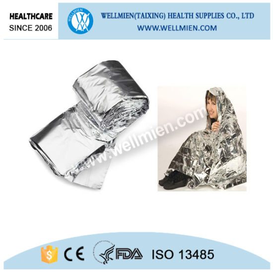 Mylar Silver Golden Emergency Blanket pictures & photos
