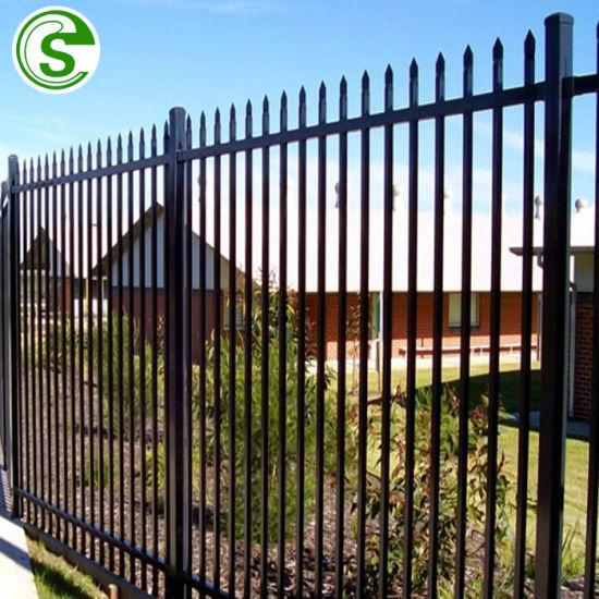 China 4ft H X 7ft W Slim Aluminum Fence China Aluminum Fence Ornamental Aluminum Fence