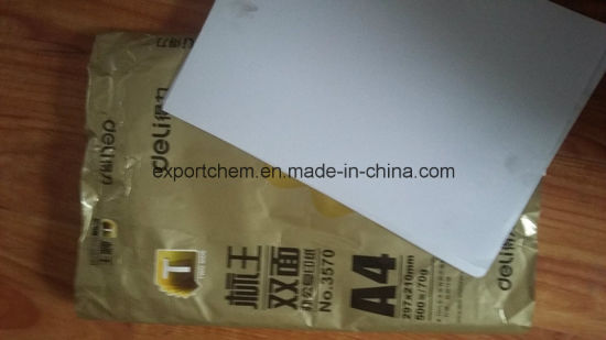 70g Copy A4 Paper with 500 Sheets/Ream Packing pictures & photos
