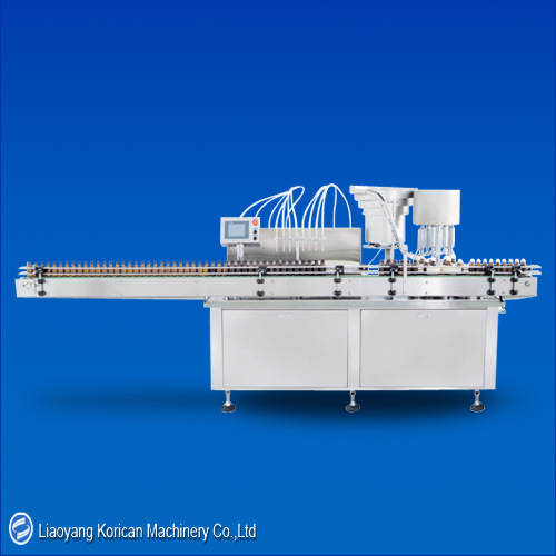 (KZNX) Eight-Head Linear Type Filling and Capping Machine pictures & photos