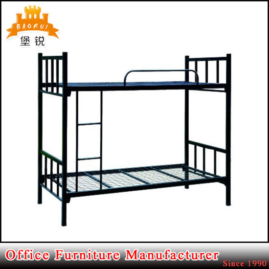 School Camp Military Use Heavy Duty Strong Cheap Steel Frame Bunk Bed pictures & photos