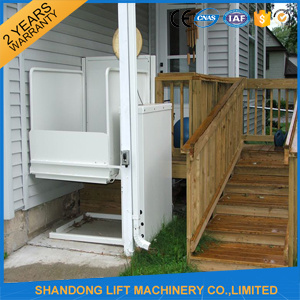 Hydraulic Outdoor or Indoor Elevator 1 Floor for Elderly pictures & photos