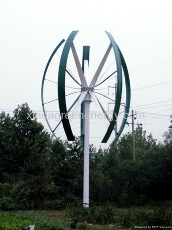Roof Top Maglev Vertical Wind Turbine Wind Generator Power Generator Windmill Low Start Speed pictures & photos