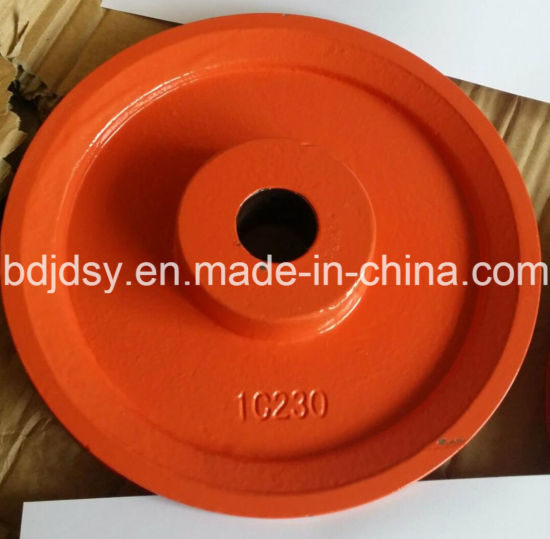 Popular Cast Iron V Belt Pulley for Glazing Production Line pictures & photos