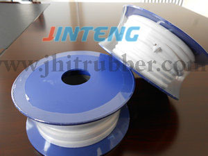 PTFE Tape, PTFE Expand Seal Tape, White Expanded PTFE Elastic Ribbon/ Tape/ Band for Industrial Seal