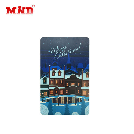 Full Color Printing Christmas Gift Card Thanksgiving Card
